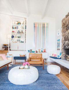 we love emily henderson's mid century modern living room!