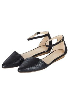 OSLO Two Part Pointed Flats - Topshop