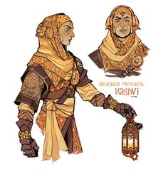 """sticksandsharks: """"Revered Mother Kashvi, Lightbearer of Sol """""""
