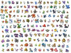 Pokémon - For Characters
