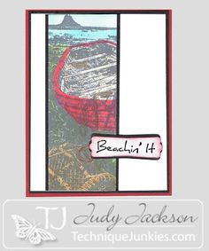 Judy's Stamp Art: Beachin' It!