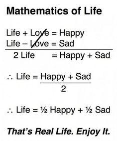 math quotes   Gagnamite: Mathematics of Life, funny Math Quotes