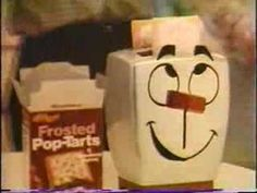 "70's TV commercial (a little creepy) for pop-tars with ""Milton"" the toaster"