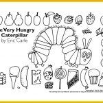 Eric Carle - Very Hungry Caterpillar, Mister Seahorse, Very Busy Spider coloring pages. Eric Carle, Colouring Pages, Coloring Sheets, Coloring Book, Food Coloring, Colouring Pencils, Chenille Affamée, Hungry Caterpillar Party, Caterpillar Preschool