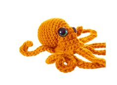 Realistic Crochet Octopus by Leah Coccari-Swift