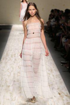 milan fashion week. sheer. feminine and lovely