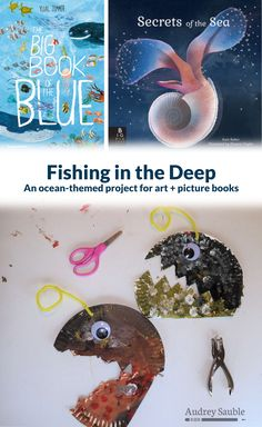 Explore under the sea with this fun activity, pairing two fascinating picture books with a cool art project. This project uses paper plates, scissor skills, and finger painting to create an angler fish! Fish Crafts Preschool, Kids Educational Crafts, Ocean Activities, Science Crafts, Ocean Crafts, Fun Activities For Kids, Preschool Activities, Educational Websites, Cool Art Projects