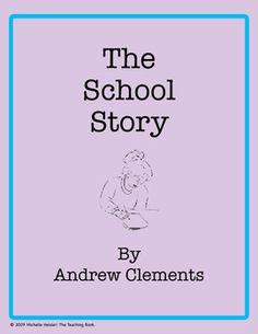 The School Story Novel Unit ~ Common Core Aligned!