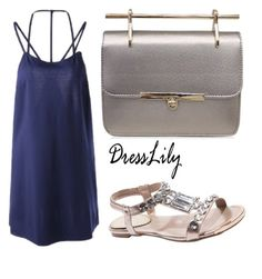 """Dresslily"" by k-lole ❤ liked on Polyvore"