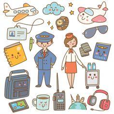 Kawaii Doodles, Cute Doodles, Kawaii Art, Cute Doodle Art, Doodle Art Designs, Cartoon Wall, Cute Cartoon, Kawaii Stickers, Cute Stickers