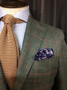 Caccioppoli Giacche, not feeling the pocket square . . . at all!
