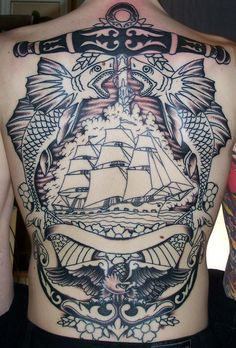 old nautical ship tattoos - Google Search