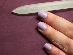 """The Nailasaurus: How I Trim and Shape My Nails (A great """"How-To"""" I follow for getting my nails to that perfect shape.)"""