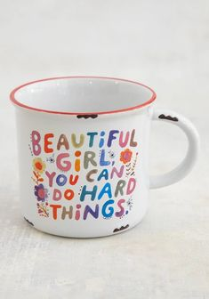 Small Gift Bags, Small Gifts, Beautiful Girl Facebook, Wise Girl, Cute Mugs, Pretty Mugs, Cute Coffee Mugs, Look Vintage, Sentimental Gifts
