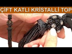 How to make a double-decker crystal ball Take Video, O Design, Large Crystals, Beading Tutorials, Crystal Ball, Bead Art, Seed Beads, Youtube, Beaded Jewelry