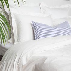 Crane & Canopy // Peninsula Soft White Bedding