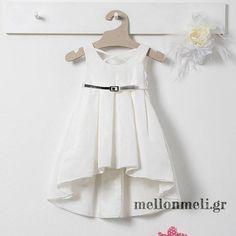 Bambolino - Βαπτιστικό Φόρεμα Kanela Άνοιξη-Καλοκαίρι Girls Dresses, Flower Girl Dresses, Wedding Dresses, Fashion, Dresses Of Girls, Bride Dresses, Moda, Bridal Gowns, Fashion Styles