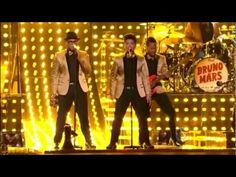 Bruno Mars at the Grammys 2012 ''Runaway Baby''. Watch when you need a smile. Just utterly charming.