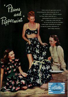 1946 #dresses #1940s #40s #fashion