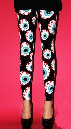 Leggings - psychobilly chic!