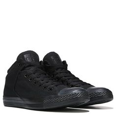 633c5524c5fd Converse Chuck Taylor All Star High Street Mid Top Sneaker Black Monochrome  Converse Mid Tops