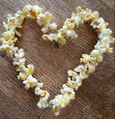 Popcorn på tråd