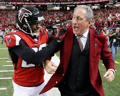 Falcons player and owner