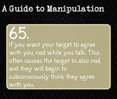 A Guide To Manipulation #65