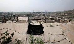 Kouquan township of Datong, China Photograph: Jason Lee/Reuters