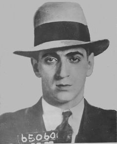 Frankie Carbo, ca. Carbo was a de facto boxing commissioner due to his influence over managers and fighters. (Used be permission of the John binder Collection. Taken from The Mob and the City, a book by Alex Hortis about the New York Mafia. Real Gangster, Mafia Gangster, Joe Masseria, Wife Movies, Mafia Crime, Mobb Deep, Thug Life, The Godfather, Mug Shots