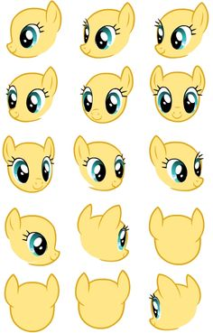 Pony Creator, Sketch Head, Mlp Base, My Little Pony Drawing, Plushie Patterns, Oc Drawings, Unicorns, Mlp Comics, Popular Cartoons