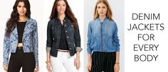 Clinton Kelly's tips on finding the best denim jackets to fit your body