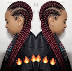 Superb  Hey Ladies, Follow The Queen For More Poppinu0027 Pins @kjvouge✨❤ · School  HairstylesFeed In Braids HairstylesProtective HairstylesBraided ...