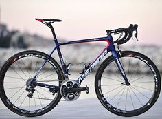 The @merida.bikes Scultura @vincenzonibali will ride in 2017 for @bahrain_merida  Head to Cyclingnews for more photos of the bike and the team training camp in Croatia @bettiniphoto