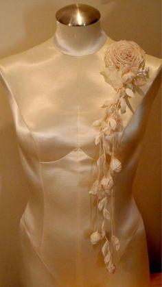 Ribbonwork Great Gatsby Style Downton Abbey by lambsandivydesigns, $58.95