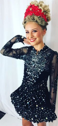 bfb97ab1dd79 Cool dress not too much sparkles which makes it better. Katie Oflaherty · Irish  dance