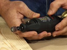 Rotary Tool Basics- Rotary tools accept a variety of attachments, which enable the handheld tool to be used for sanding, polishing, carving and more. Find out which attachment you need to help get the job done.