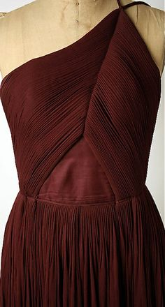 Madame Gres. The detail on this dress, wow!