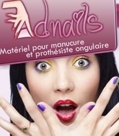 FRENCH SITE    On Adnails -manucure.com, the buyer benefits from various offers from our continuous search for new products, new collections and suppliers around the world. Originality, quality criteria are specific to Adnails. To develop our particularity, we attend trade shows regularly, but also, we research on our own.