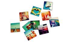 Riproponi le tue foto più belle e divertenti di Facebook o Instagram con questi magneti completamente personalizzabili