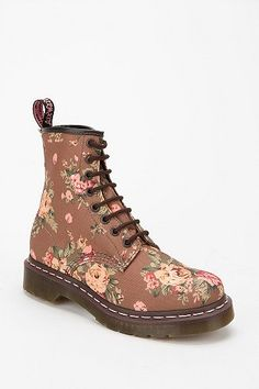 Dr. Martens Floral 1460 Lace-Up Boot