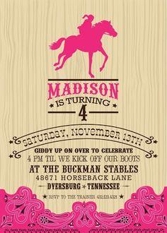 Anders Ruff Custom Designs, LLC: Caryn's Cowgirl Celebration!