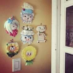 I finally got my wall pockets all hung up, these make me so happy!💕…