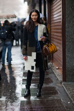Street Style: Milan Fashion Week Fall 2013