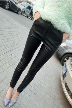 Chic Black Slim Fit Leggings