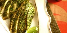 Juicy chicken breast seasoned with fresh herbs, spices and a hint of lime.