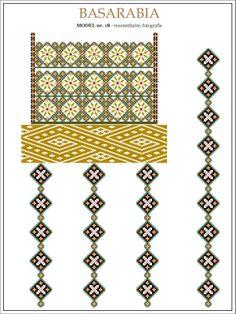 Romanian motifs - Basarabia 1930's