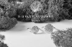 Silver rings.  Jardin d'Eden Sibylle Flouret bijoux
