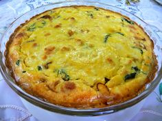 SPINACH BACON QUICHE   A delicious recipe given to me by my dear mother-in-law, Kay Eloff , who passed away this year, August ...