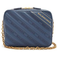Balenciaga Blanket Reporter XS ($1,690) ❤ liked on Polyvore featuring bags, handbags, shoulder bags, balenciaga purse, blue handbags, blue purse, balenciaga handbags and balenciaga